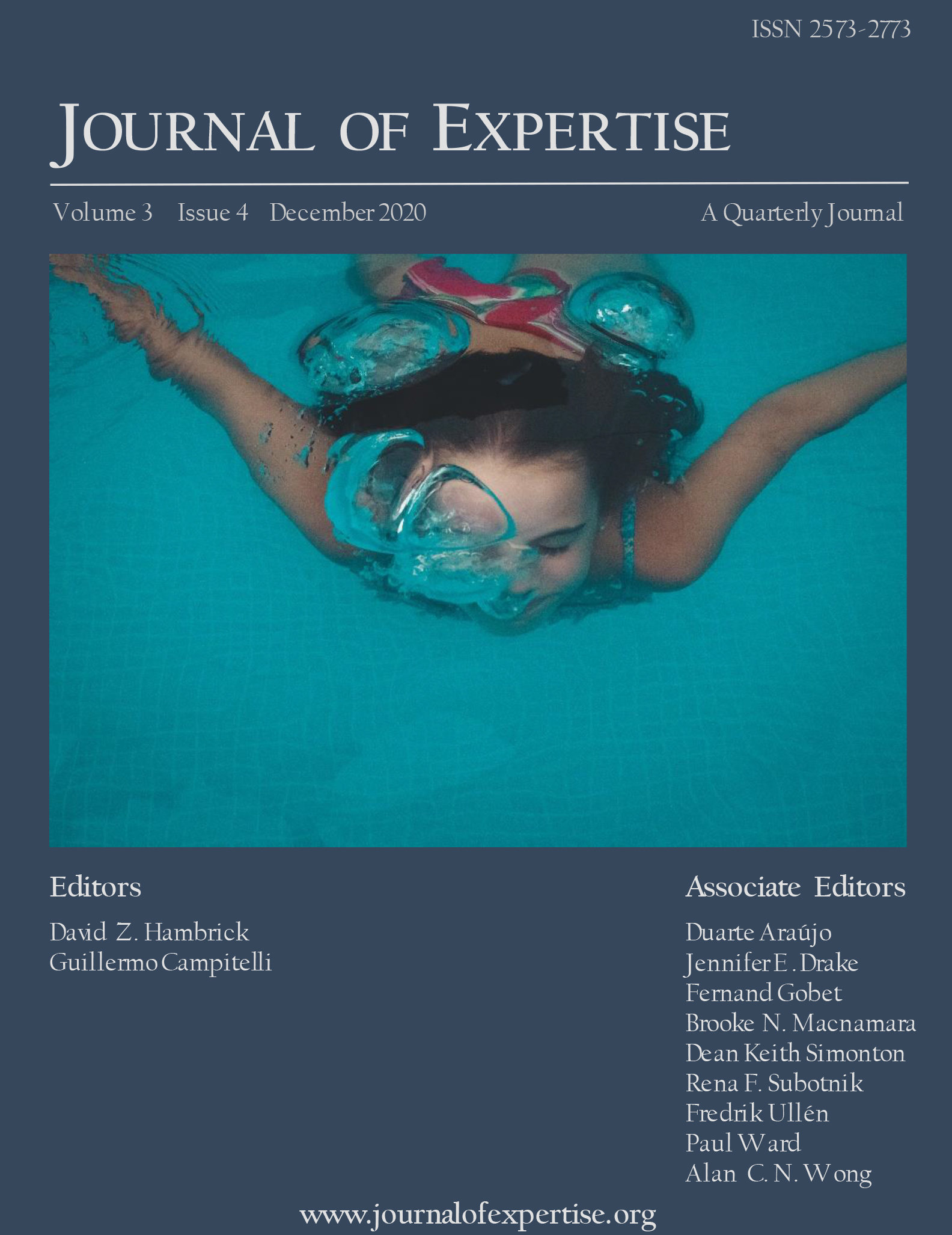 Journal of Expertise Volume 3 Issue 4